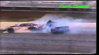 Ascar Jason Plato & Mark Proctor Crash Rockingham 2002