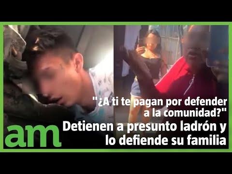 Familiares defienden a presunto ladrón en León
