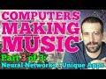 Capture de la vidéo Computers Making Music Pt. Iii - Neural Networks + Unique Music Software