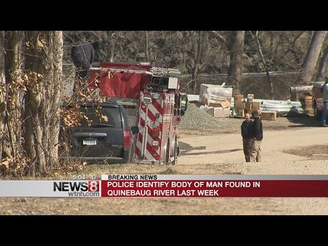 Body found in Quinebaug River identified as missing Lisbon man