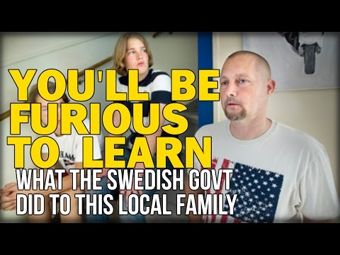 Bildresultat för YOU'LL BE FURIOUS TO LEARN WHAT THE SWEDISH GOVT DID TO THIS LOCAL FAMILY