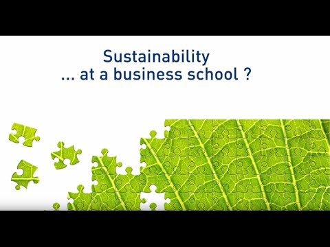 Sustainability research and teaching at ESCP Europe