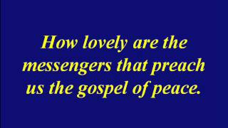 Soprano-Mendelssohn-How Lovely Are The Messengers