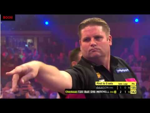 Scott Mitchell Brilliant Finishing - 2015 BDO World Championship QF