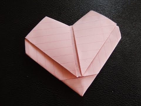 Easy How to Make Heart (out of regular size paper)