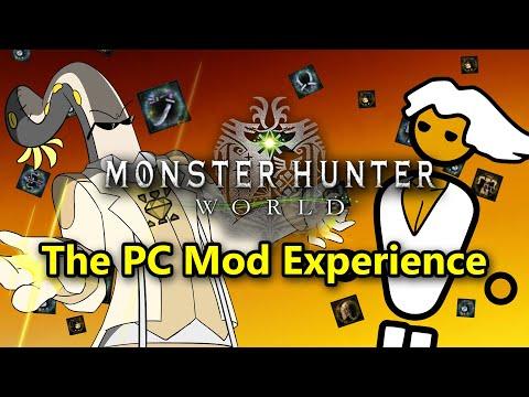 MHWorld Shots: The PC Mod Experience. (ft. Nyangtofu Guest Animator)