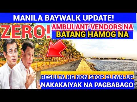 WOW MANILA BAY! CRUSHED DOLOMITE SOBRANG LAWAK NA | MANILA UPDATE