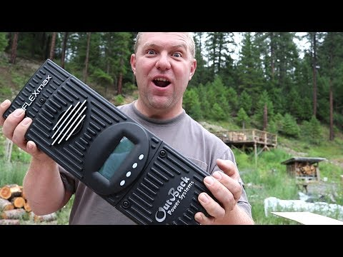 MASSIVE SOLAR UPGRADE (Outback FLEXMax 80 Charge Controller Unboxing)