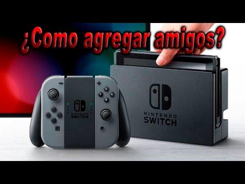 Como agregar amigos en Nintendo Switch
