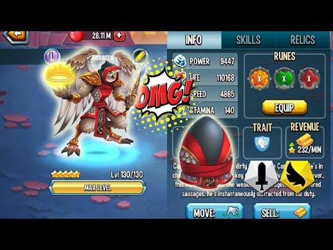⦿Monster Legends - Event YAMADA level 130 combat review Good Support