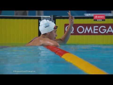 Pignatiello suma otra medalla: ganó una plateada en natación