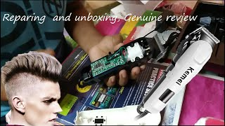 KEMEI KM 809A review   Professional hair clipper  unboxing  genuine review of Kemei KM 809A,