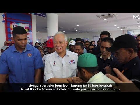 Najib ikrar bumi Sabah akan berubah