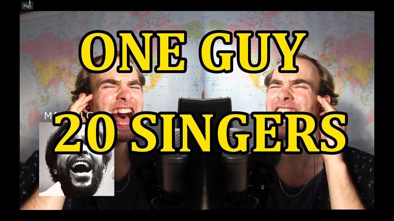 1 Guy, 20 Singers