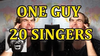 One Guy, 20 Singers  ✔ thumbnail