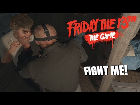 FIGHT ME LIKE A MAN! | Friday The 13th: The Game JASON VOORHEES GAMEPLAY