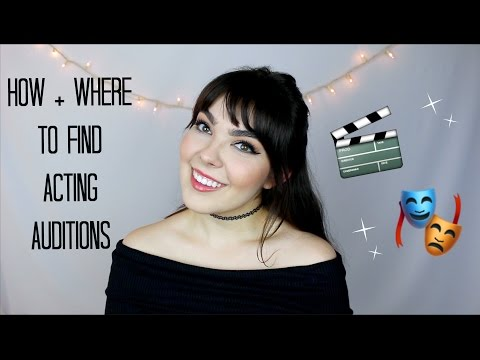 How + Where to Find Acting Auditions