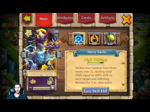 Rolling 45000 Gems For Trixie Treat 24 Lucky Flips VERY Nice Account Castle Clash