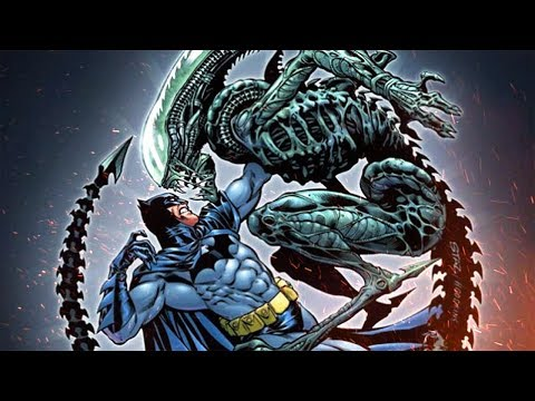 The Time BATMAN Met ALIENS...