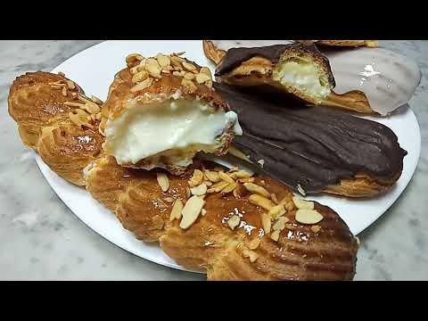 how-to-make-eclairs---vanilla-eclair-recipe---recette-éclair-vanille