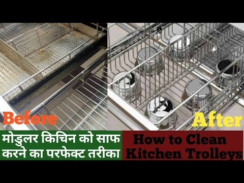 How to Clean Kitchen - Cabinet | Indian Kitchen Cleaning |Modular Kitchen |Diwali Cleaning