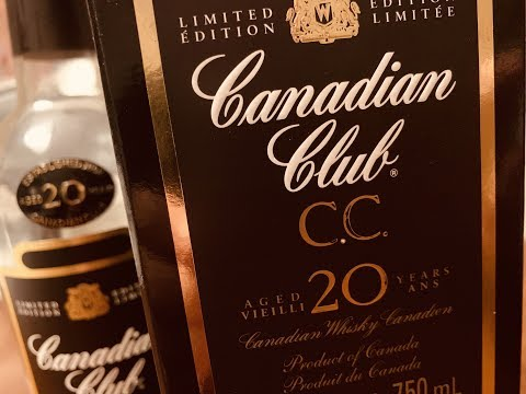 Whisky Review: Canadian Club 20 Year Old