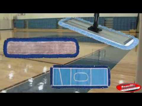 How to Maintain and Take Care of Hardwood Gym Floors by Danville Paper & Supply