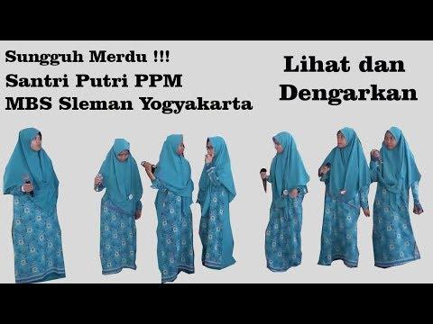 Sungguh Merdu Lagu Dari Santri Putri PPM MBS Sleman Yogyakarta - Sin Cos Tan Nasyid Acapella
