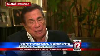Repeat youtube video Donald Sterling slams Magic Johnson, HIV status