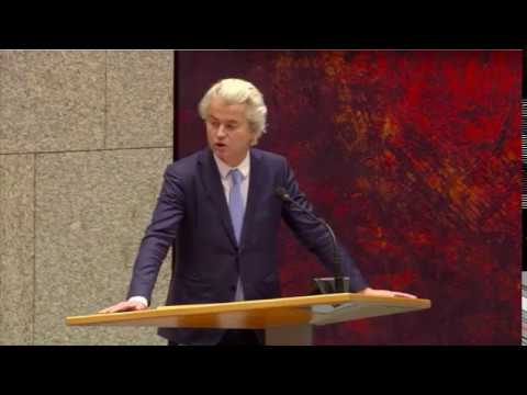 Inbreng Geert Wilders debat over de Teevendeal