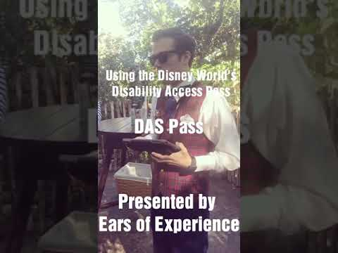 Disney DAS pass & how it works