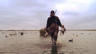 Открытие охоты на утку 2016. Охота на уток.(Открытие охоты на утку неподалеку от дома. Удачное открытие охоты в суровую погоду. Утиная охота 2016., 2016-10-17T19:00:10.000Z)
