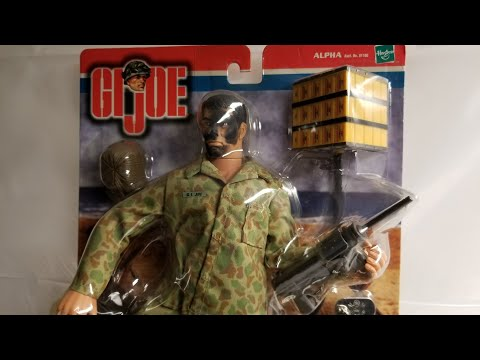 GIJOE SCOUTS AND RAIDERS DEMOLITION EXPERT FIGURE REVIEW
