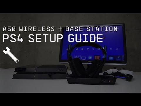 A50 Wireless + Base Station PlayStation 4 Setup Guide || AST