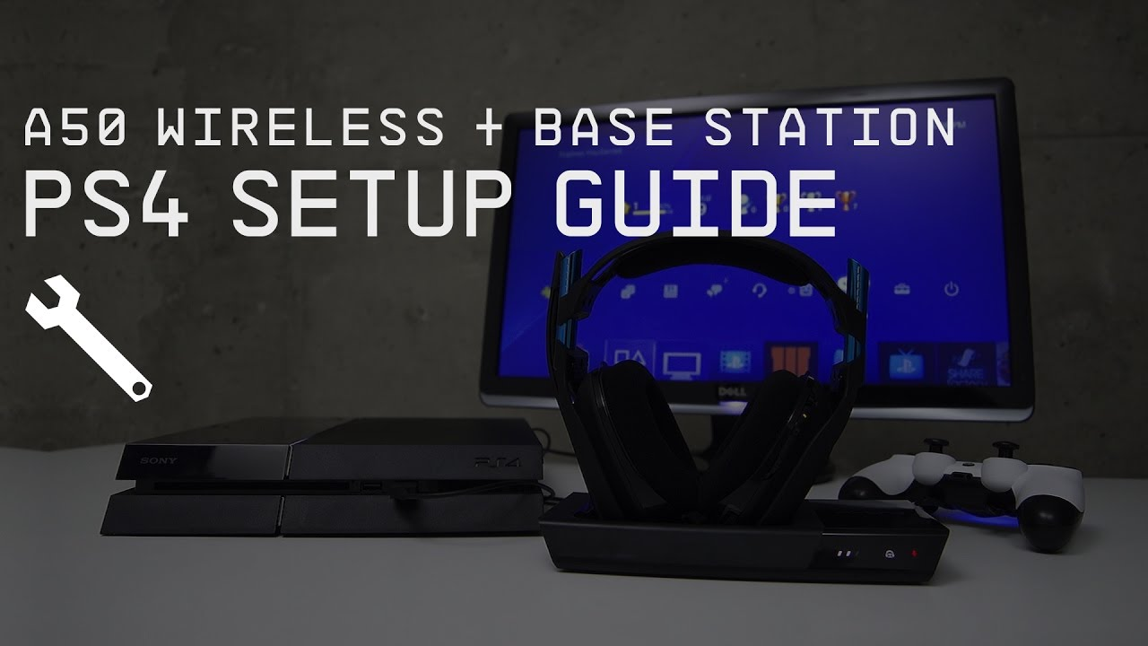 4cdf13f775d A50 Wireless + Base Station PlayStation 4 Setup Guide || ASTRO Gaming -  YouTube