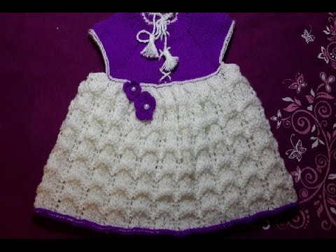 1-Платье сарафан спицами для