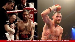 Andy Lee with Paddy Considine | Journeyman, a love for Boxing, Death of the Ego, Masculinity in 2018