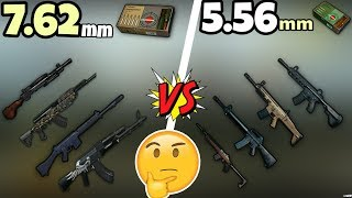 Which  Are Best 5 56 Ammo Or 7 62 Ammo   in   PUBG MOBILE