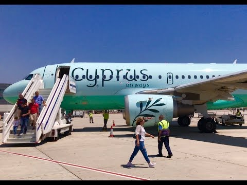 Flying Cyprus Airways in Economy - Flight CY121 from Beirut,