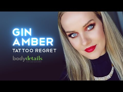 Tattoo Removal 1st Treatment | Gin Amber | Body Details