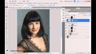 Видеоурок: Photoshop. Ретушь портрета