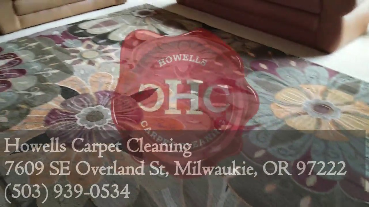 Rug Cleaning Happy Valley, OR - YouTube