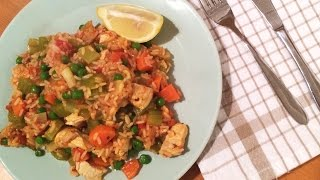 How To Make Easy Chicken Paella In 42 Seconds