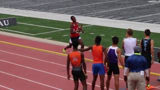 Miller and team USA cruise in AAU Junior Olympic 4x400