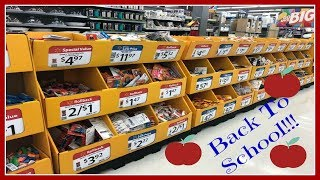 Back To School Shopping At Walmart! 2018!
