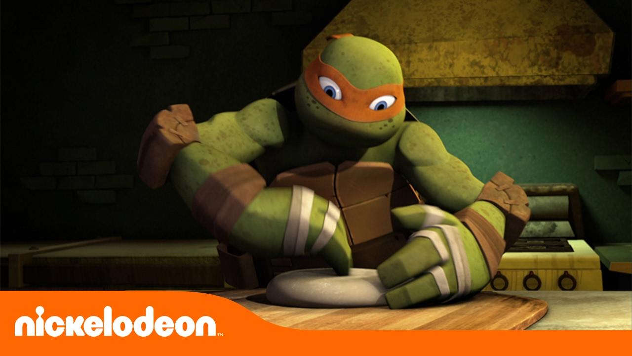 Tartarugas Ninja Fazendo Pizza Tmnt Nickelodeon Em Portugues