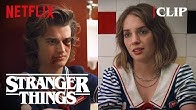 Steve & Robin Bathroom Scene | Stranger Things 3 | Netflix