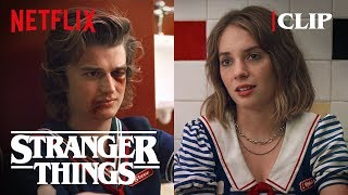Steve & Robin Bathroom Scene | Stranger Things 3 | Netflix
