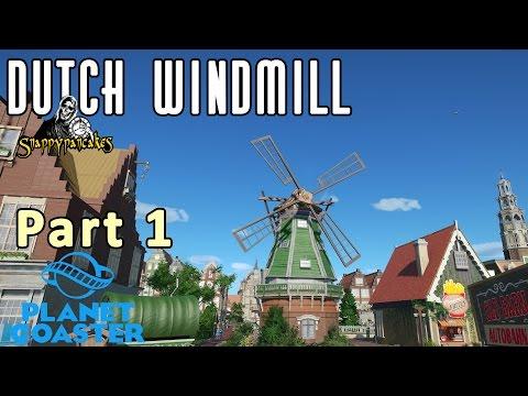 Dutch Windmill Part 1 - Planet Coaster [4k 60fps]