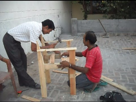 How to Make Wooden Chair  Woodworking Information  YouTube